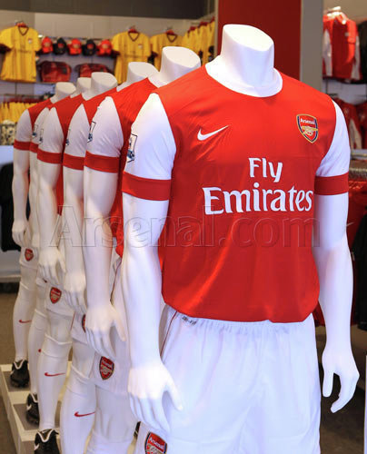 Arsenal Kit 2010 2011 - Arsenal FC The Pride Of London 9f609d13a